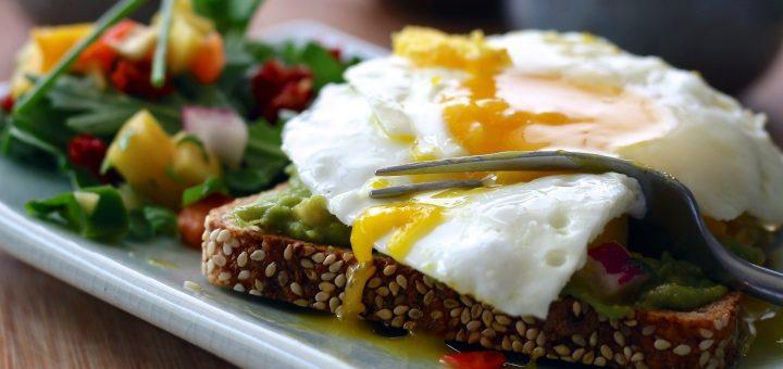 Toast s vajíčkem