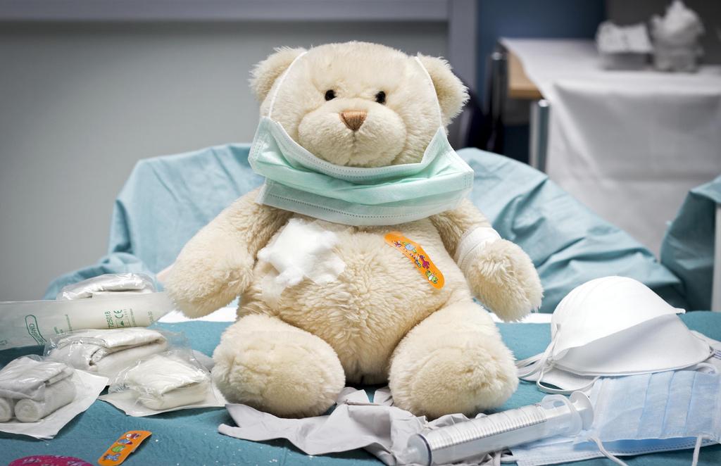 Nemocniční medvídek