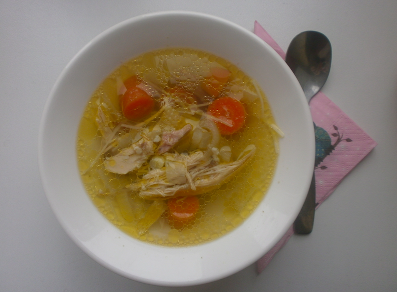 Šestinedělní polévka