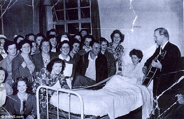 Návštěvy v nemocnici